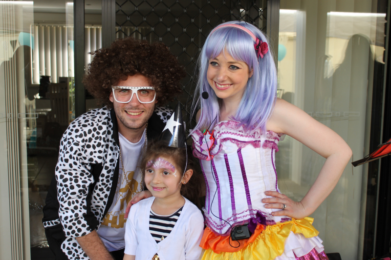 Redfoo and Katy Perry Party Sydney