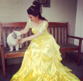 Princess Belle and Furry Friend