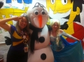 Elsa, Olaf and Captain Starlight