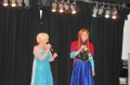 Elsa and Anna on Stage