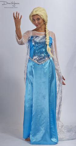 Snow Queen Dress 3