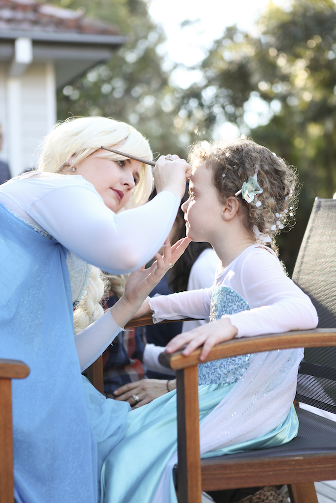 Snow Queen Face Painting