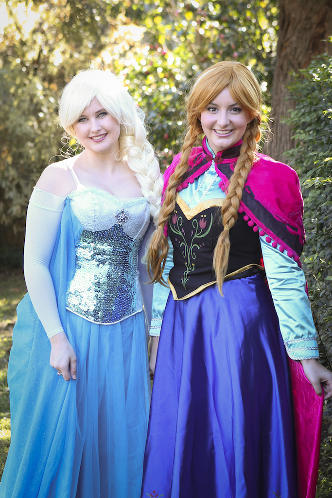 The Snow Queen and Princess