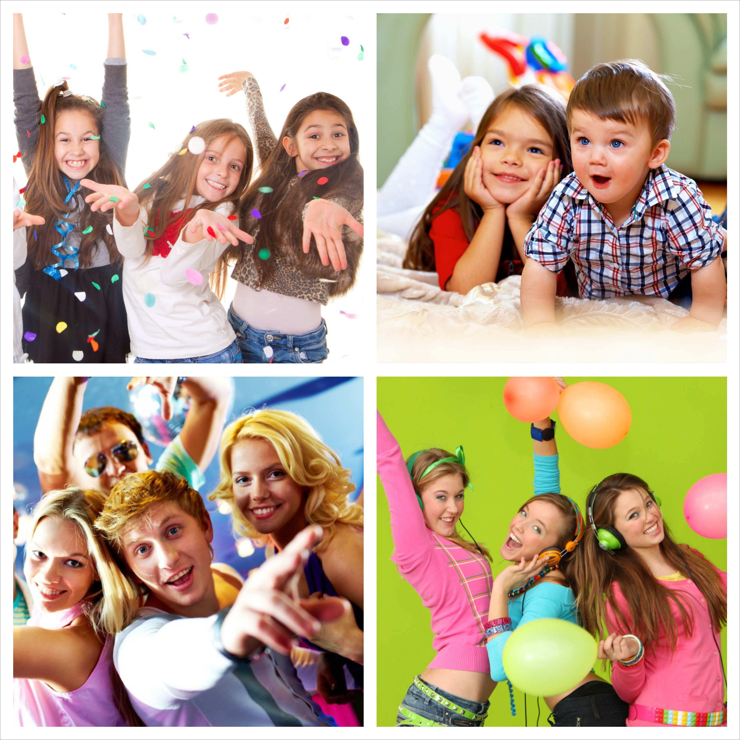 At Superstar Parties we offer a range of fun party packages that children and teens will love.