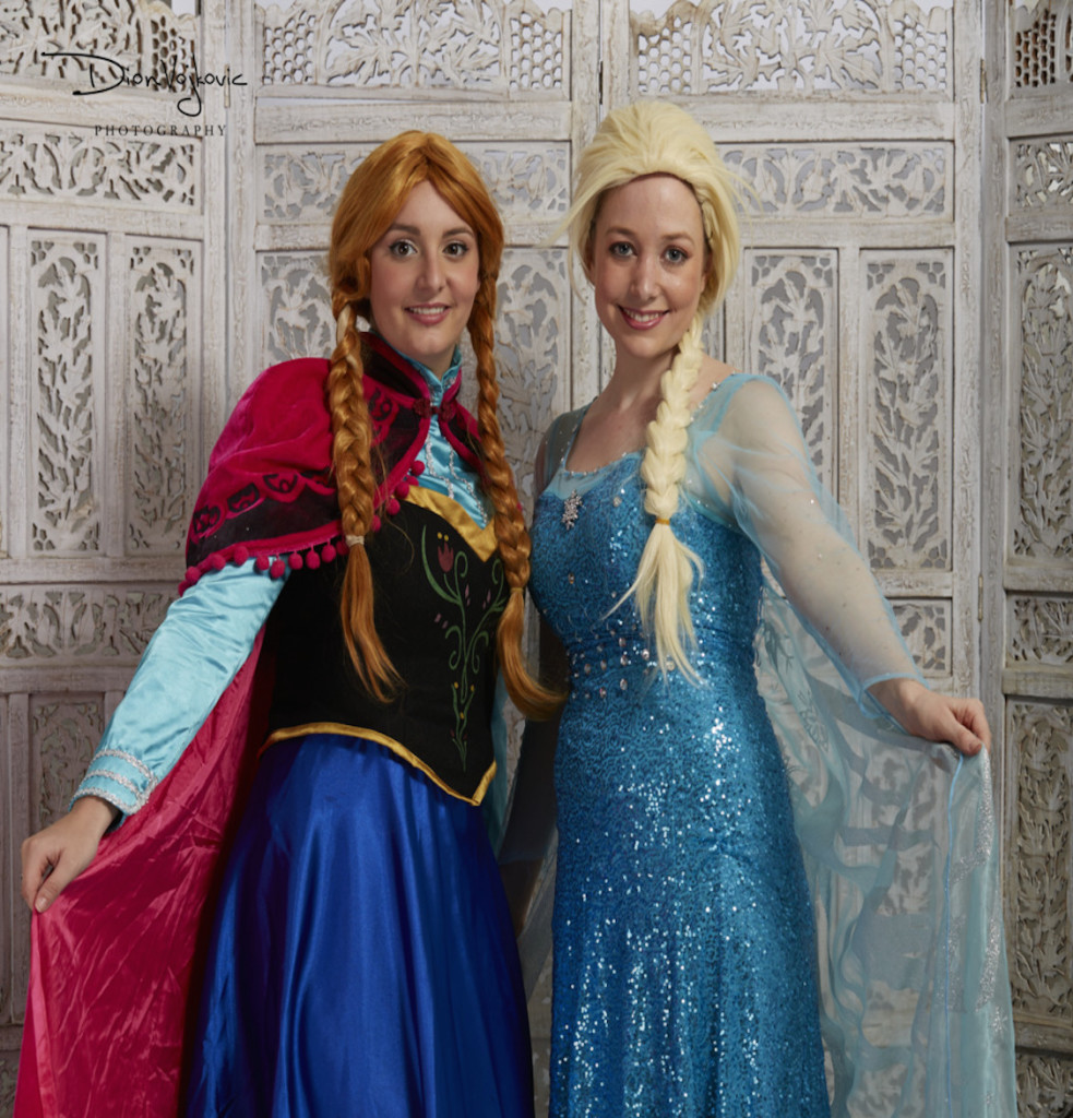 The Snow Queen and Snow Princess