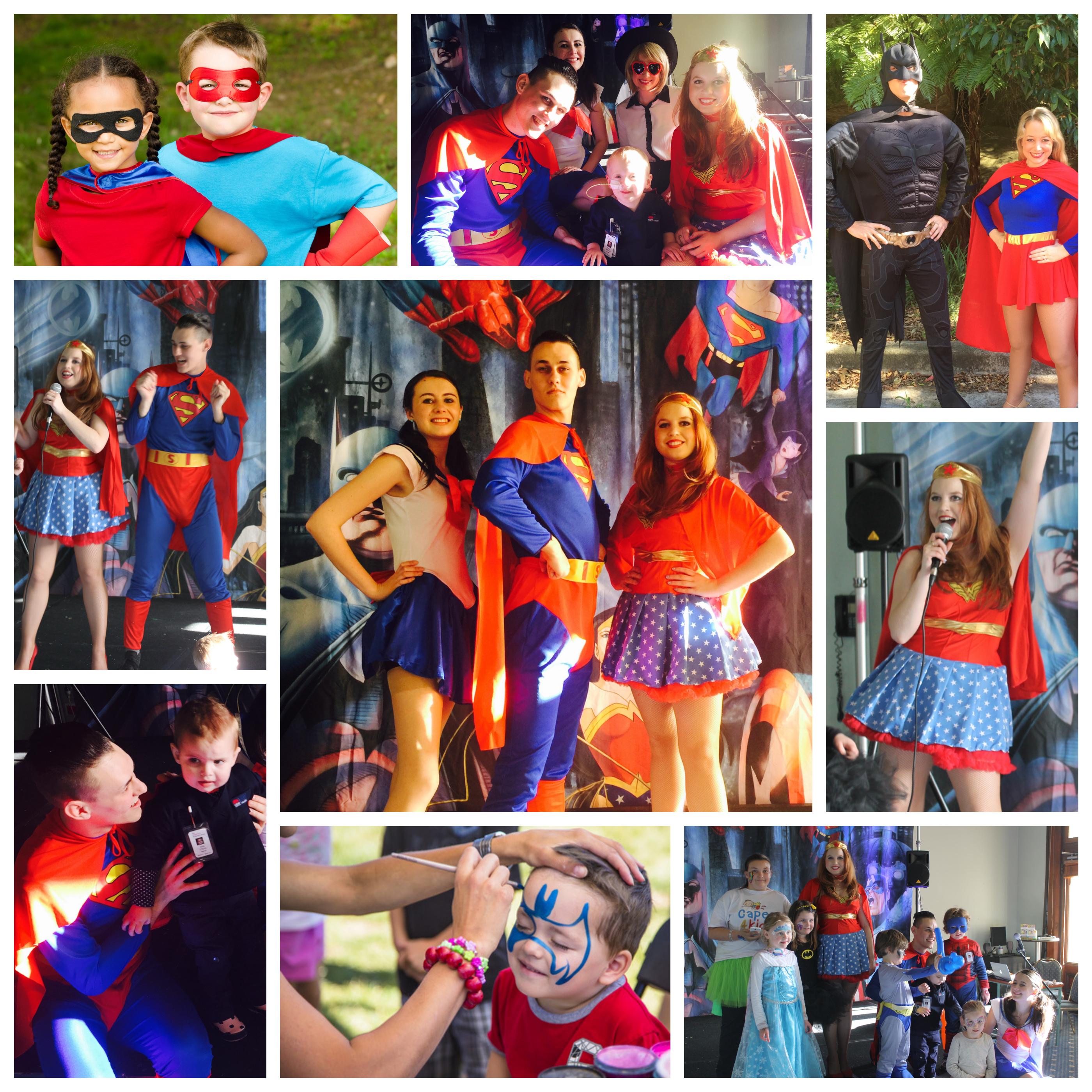 Superhero Kids Party Sydney