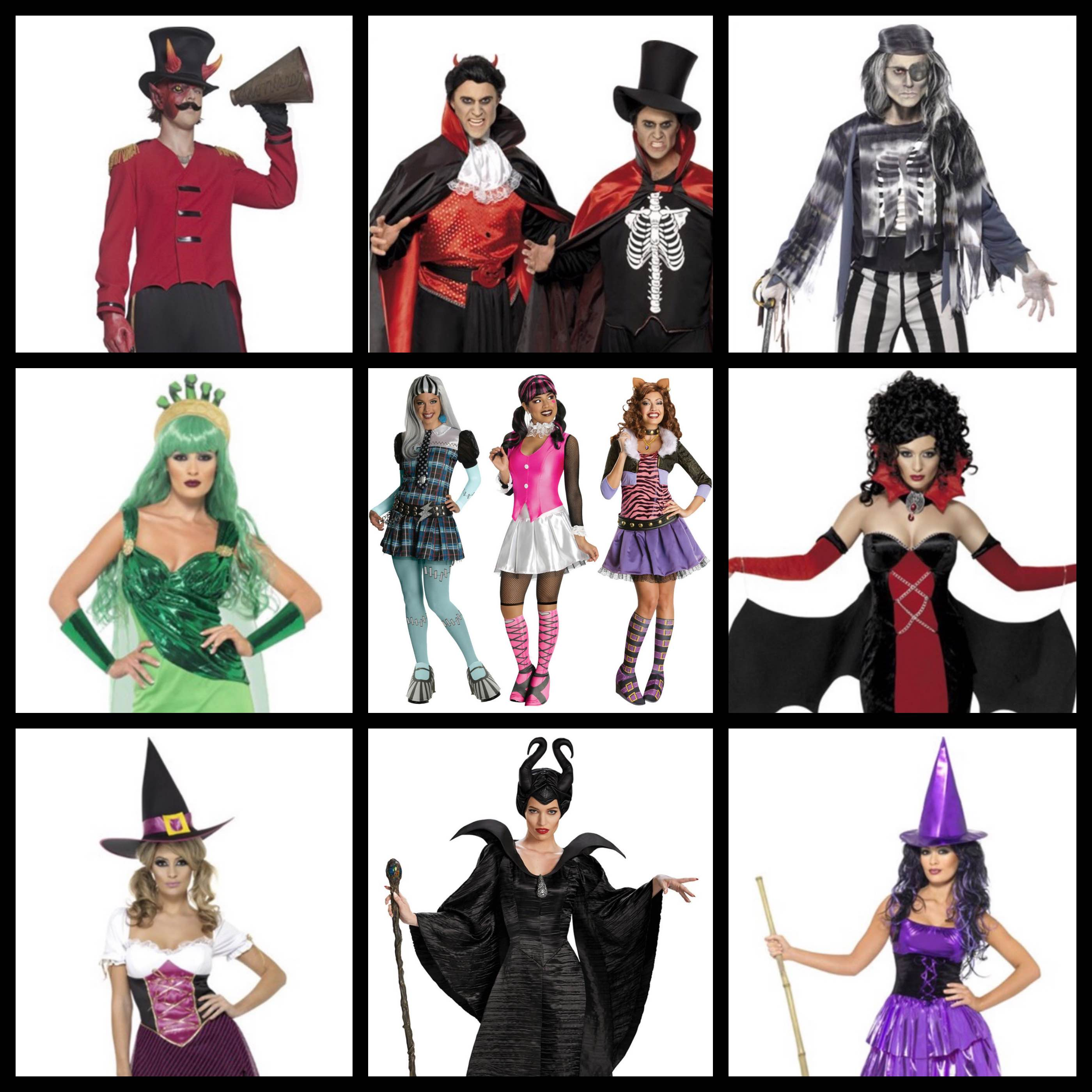 Scary Characters and Halloween - Super Star Parties